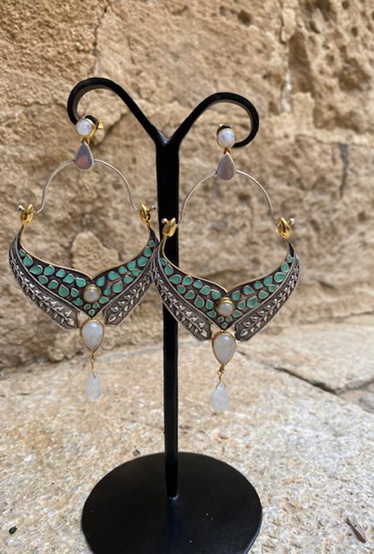 Piluca-Osaba- MOON-EARRINGS